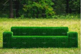 Топиари диван - газон Eco