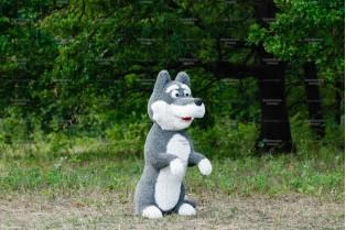 Топиари волк Мерли - газон Eco