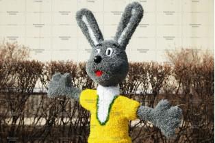Топиари заяц Семен - газон Eco